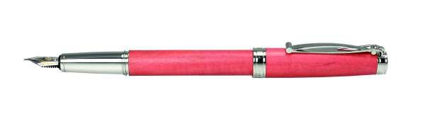 Cleo Natura Füllhalter F-Goldfeder 18Kt Pink Ivory 28015