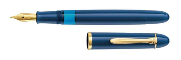 Pelikan Füllhalter M120 Iconic Blue, Feder M 809658 - Special Edition