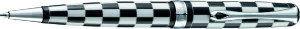 Diplomat Kugelschreiber Excellence A plus Rome schwarz-weiß easyFlow, D40102040