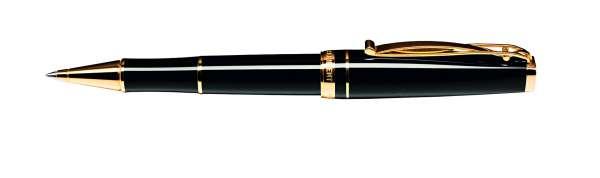 Cleo Skribent Kugelschreiber Gold - schwarz 25014