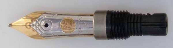 Pelikan Feder M450 / M700 Toledo 18Kt-Gold bicolor EF 910836