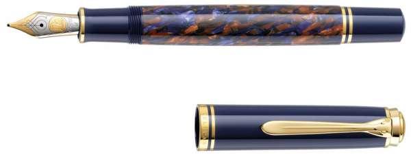 Pelikan Füllhalter Souverän M800 Stone Garden, Feder F, 810029 - Special Edition