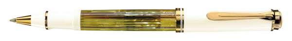 Pelikan Tintenroller Souverän R400 - Schildpatt-Weiß - 935593