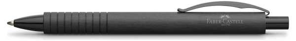 Faber-Castell Kugelschreiber Essentio Aluminium schwarz, 148427