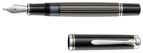 Pelikan Füllhalter M815 Metal Striped, Feder F 809214 - Special Edition