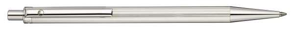 Waldmann 2405 Eco Druckbleistift, Linien-Design silber