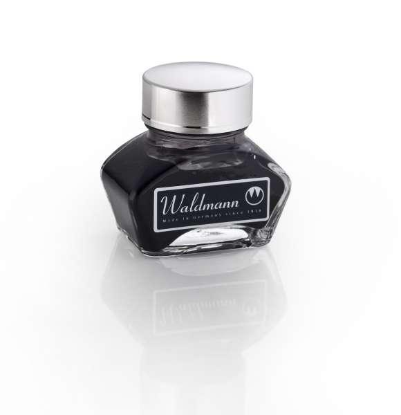 Waldmann 0124 Tintenglas, 30 ml - schwarz