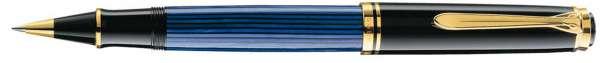 Pelikan Tintenroller Souverän R400 Schwarz-Blau - 985432