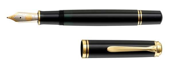 Pelikan Füllhalter Souverän M1000 Schwarz - Goldfeder 18kt-F 987289