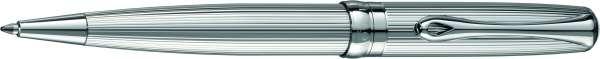 Diplomat Kugelschreiber Excellence A2 guillochiert chrom easyFlow, D40207040
