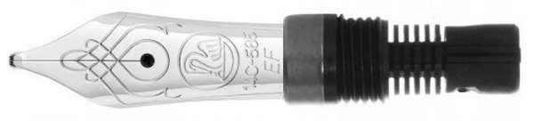 Pelikan Feder M405 14Kt-Gold rhodiniert B 957969