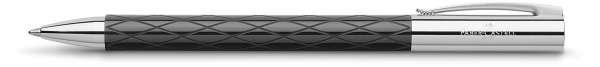 Faber-Castell Drehkugelschreiber AMBITION Rhombus schwarz, 148900