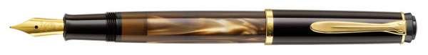 Pelikan Füllhalter M200 Braun-Marmoriert - Feder F 808804