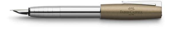 Faber-Castell Füllhalter LOOM Metallic olive Feder B, 149123