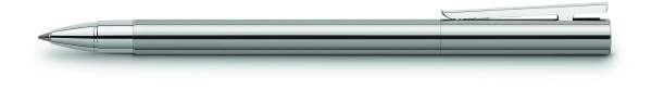 Faber-Castell Tintenroller NEO Slim Edelstahl glänzend, 342004