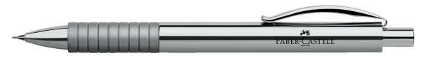 Faber-Castell Druckbleistift 0,7mm-B BASIC Metall glänzend, 138471