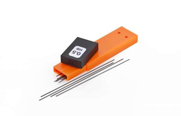 Waldmann 0121 Kassette mit 12 Bleistiftminen 0,5 mm