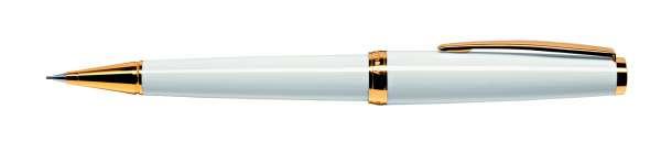 Cleo Classic Bleistift Gold weiß 24125