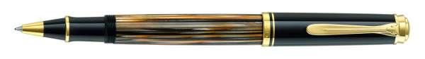 Pelikan Tintenroller Souverän R400 - Schildpatt Braun 800402 - Special Edition