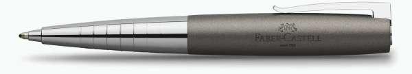 Faber-Castell Kugelschreiber LOOM Metallic grau, 149106