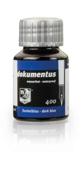 Rohrer & Klingner dokumentus dunkelblau, Dokumententinte 50ml