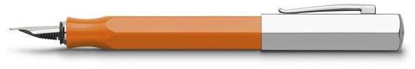Faber-Castell Füllhalter Ondoro Orange, Feder M, 147590