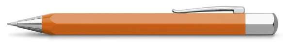 Faber-Castell Drehbleistift 0,7mm-B Ondoro Orange, 137502