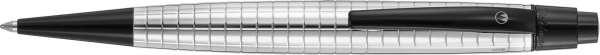 Waldmann 5685 Kugelschreiber Concorde, PVD-schwarz / Quadrat-Design
