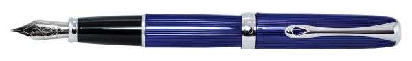 Diplomat Füllhalter Excellence A2 Skyline blau, Feder F, D40215023