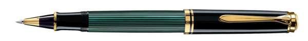 Pelikan Tintenroller Souverän R600 Schwarz-Grün - 977728