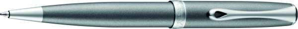 Diplomat Kugelschreiber Excellence A2 Venezia platin matt chrom easyFlow, D40206040
