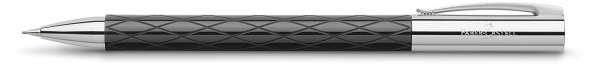 Faber-Castell Drehbleistift 0,7mm-B AMBITION Rhombus schwarz, 138900
