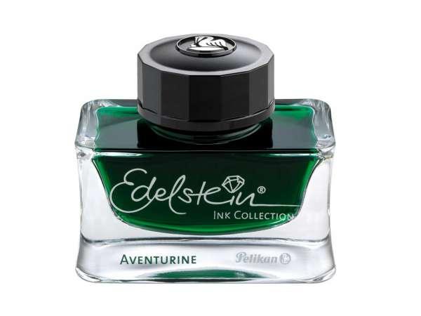 Pelikan Tinte Aventurine 50ml Flakon Edelstein Ink Collection, 339366