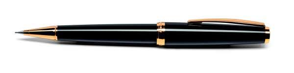 Cleo Classic Bleistift Gold schwarz 24015