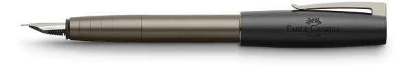 Faber-Castell Füllhalter LOOM gunmetal matt, Feder M, 149260