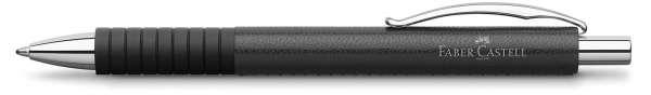 Faber-Castell Kugelschreiber BASIC Black Leder, 148889