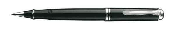 Pelikan Tintenroller Souverän R405 - Schwarz-Silber 926352
