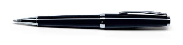 Cleo Classic Kugelschreiber Palladium schwarz 24004