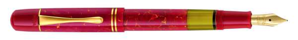 Pelikan Füllhalter M101N - Bright Red Goldfeder 14kt-M 803458 - Geschenkset - Special Edition