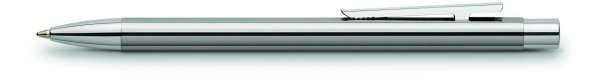 Faber-Castell Kugelschreiber NEO Slim Edelstahl glänzend, 342020