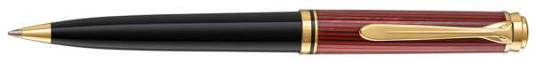 Pelikan Kugelschreiber Souverän K600 Schwarz-Rot - 928846