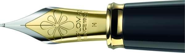 Diplomat D90119975 Excellence A Federaggregat vergoldete Beschläge, B bicolor