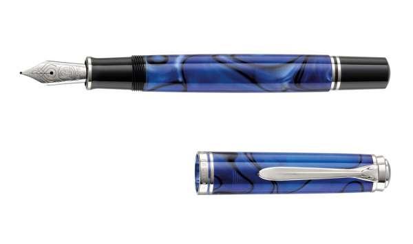 Pelikan Füllhalter Souverän M805 - Blue Dunes, Goldfeder 18kt-M 813327 - Special Edition