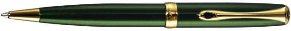 Diplomat Kugelschreiber Excellence A2 Evergreen vergoldet easyFlow, D40211040