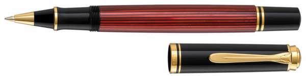 Pelikan Tintenroller Souverän R600 Schwarz-Rot - 928853
