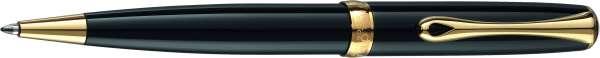 Diplomat Kugelschreiber Excellence A2 Lack schwarz vergoldet easyFlow, D40203040
