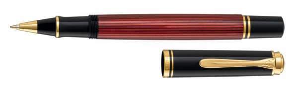 Pelikan Tintenroller Souverän R400 Schwarz-Rot - 923102