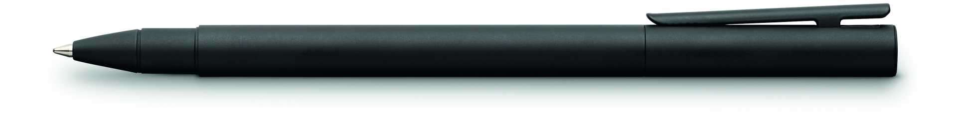 schwarz matt Faber-Castell 342304 Metall Schwarz Tintenroller NEO Slim