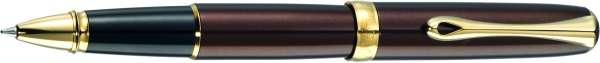 Diplomat Tintenroller Excellence A2 Marrakesh braun vergoldet, D40213030