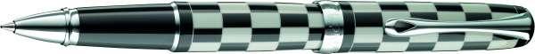 Diplomat Tintenroller Excellence A plus Rome schwarz-weiß, D40102030